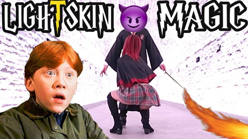 Constantlll – LIGHTSKIN MAGIC (Harry Potter Parody)
