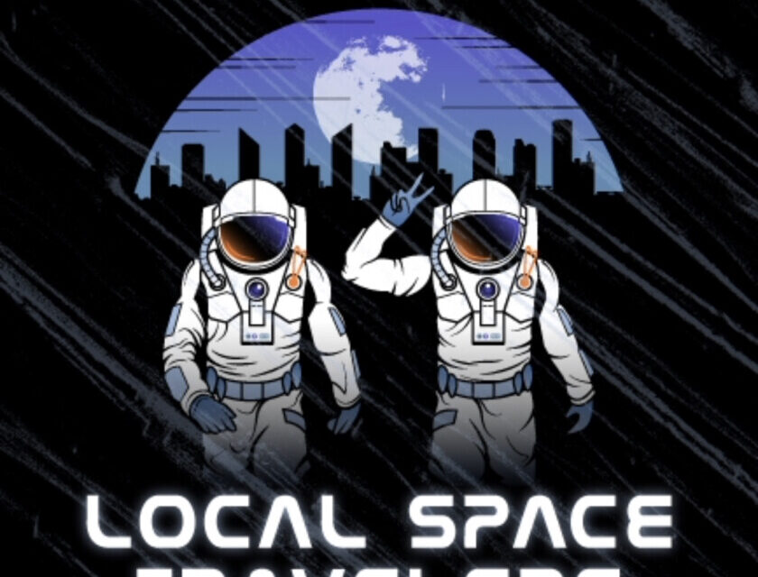 Cliff and Flyrobotics – Local Space Travelers